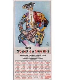 cartel de la feria de sevilla 2005