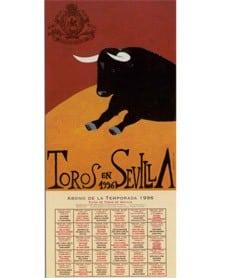 Cartel de la Feria de Sevilla 1996