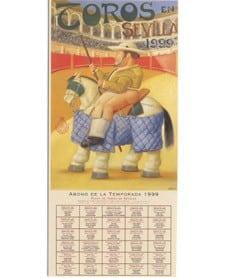 Cartel de toros Feria de Sevilla 1999