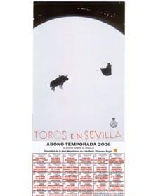 Carteles de toros Sevilla 2006