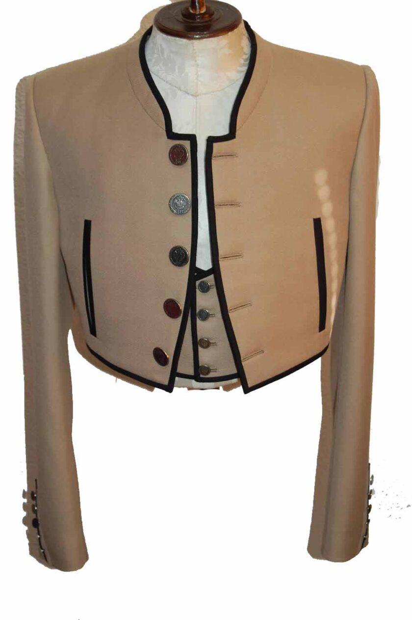traje campero de torero