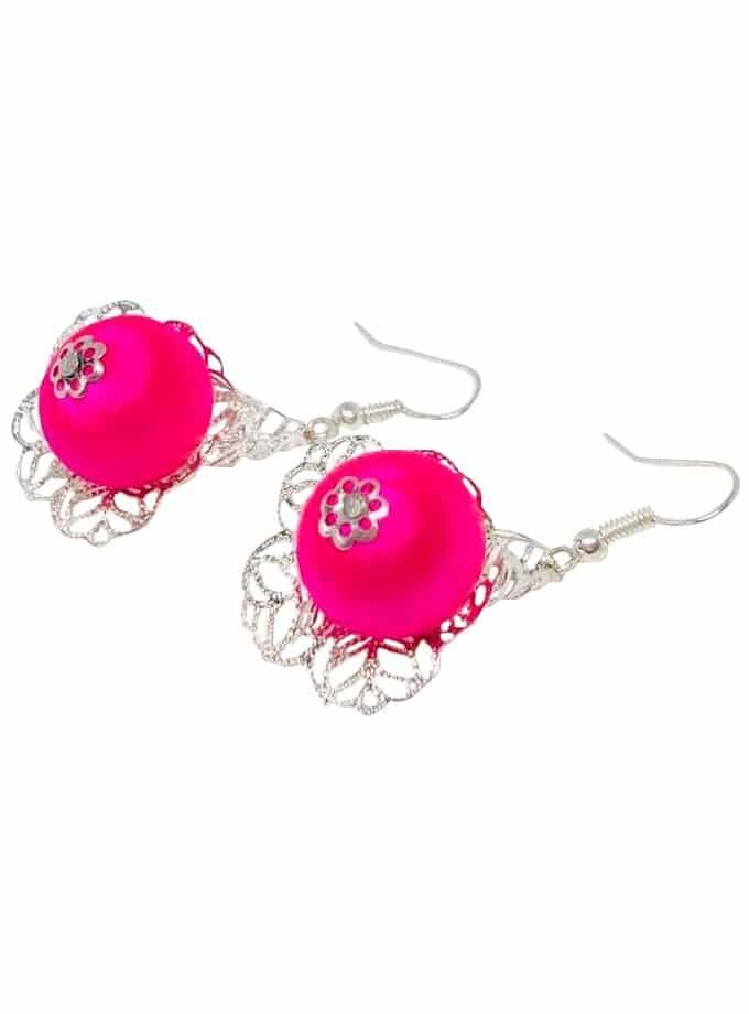 Pendientes de Luces rosas