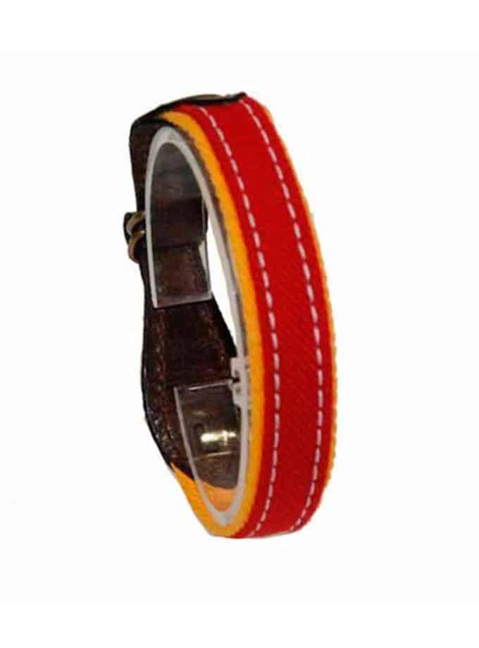red bullfighter cape bracelet