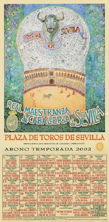 Carteles de toros Feria de Sevilla 2002