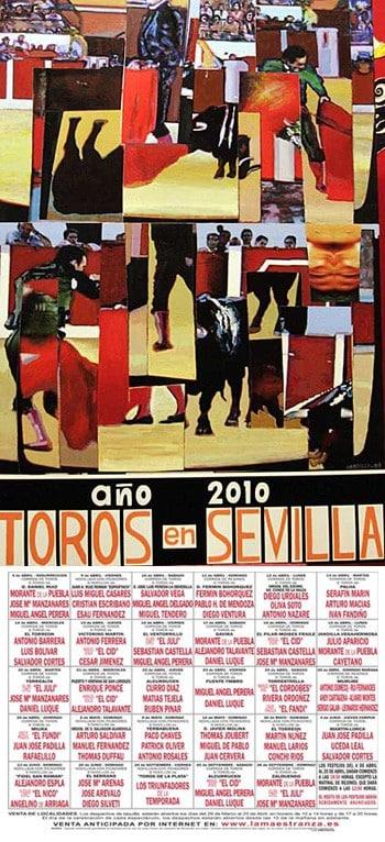 Cartel de la Feria de Sevilla 2010