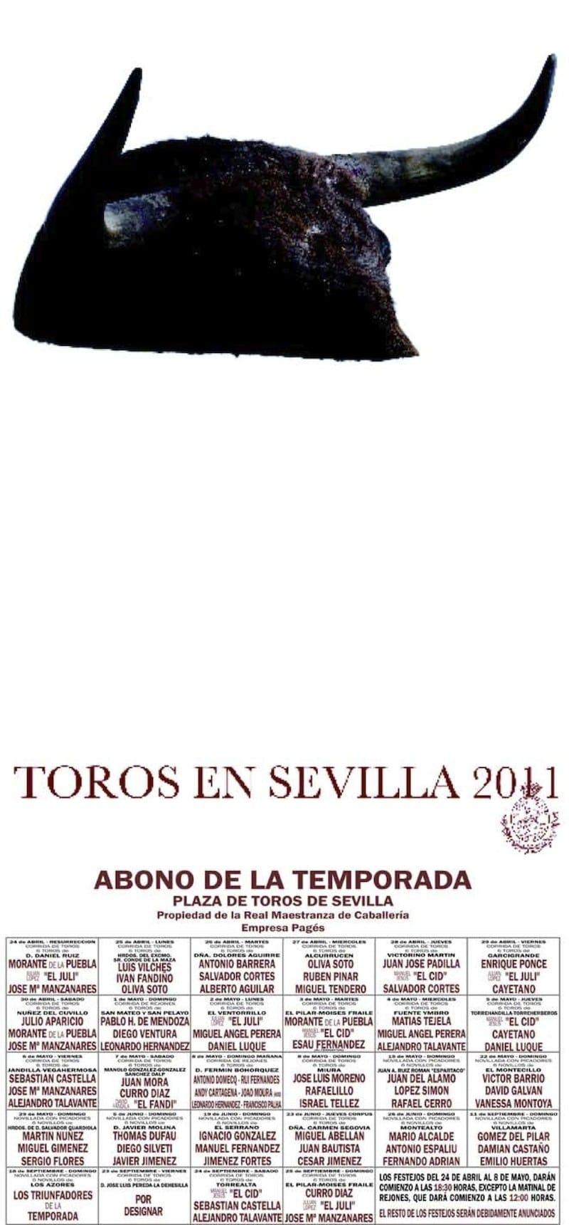 Cartel de la Feria de Sevilla 2011