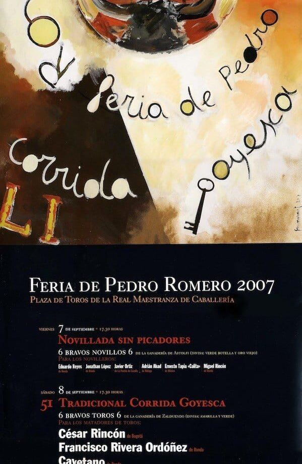 LI Corrida Goyesca de Ronda (año 2007)