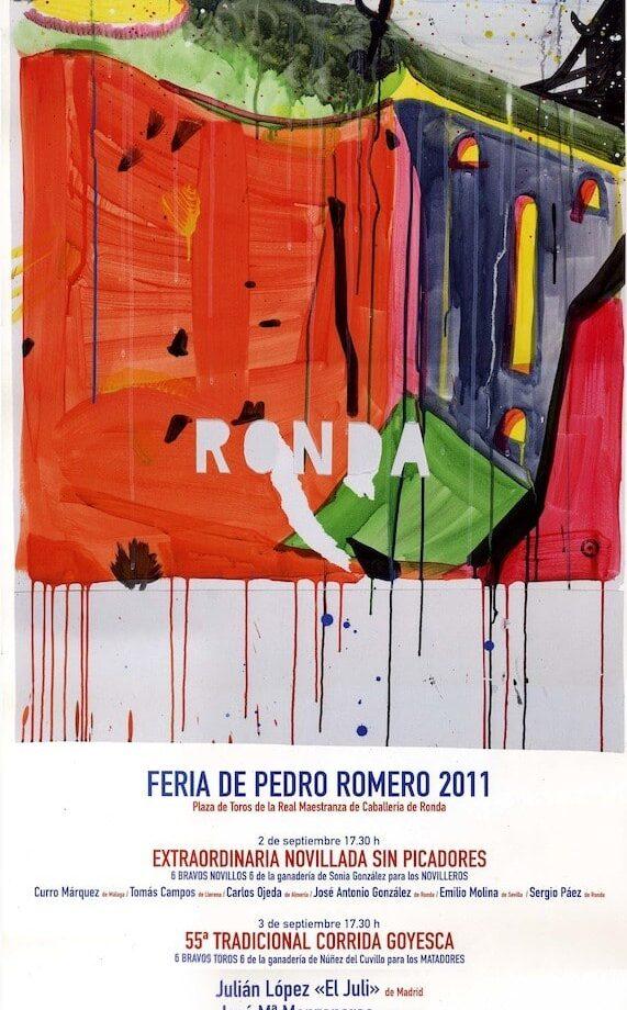 LV Corrida Goyesca de Ronda (año 2011)