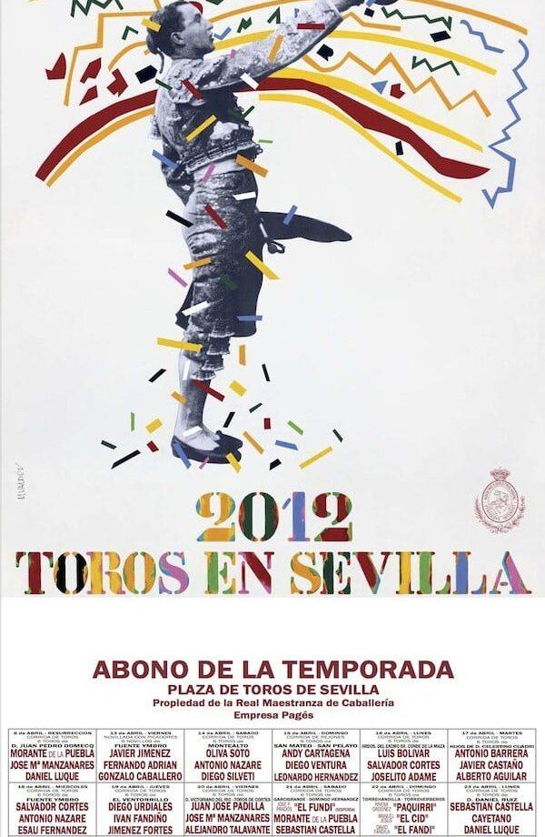 Cartel de la Feria de Sevilla 2012