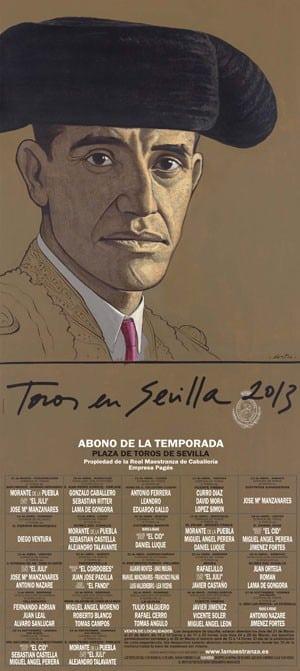 Cartel de la Feria de Sevilla 2013