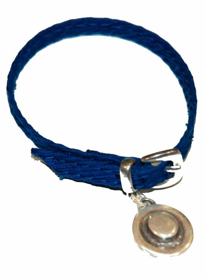 Pulsera taurina Fajín by TS azul capote