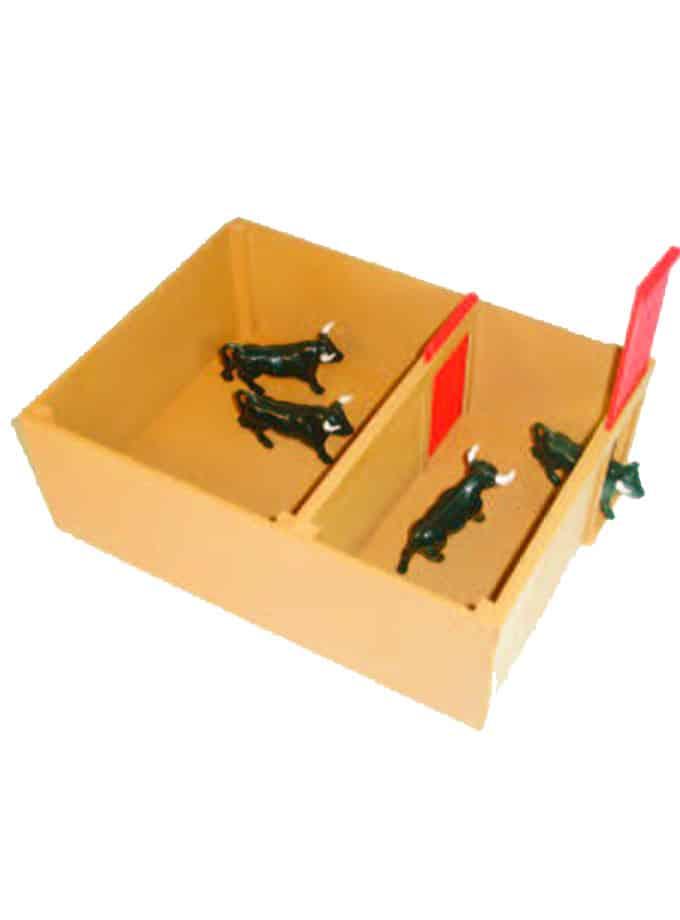 Toril para toritos de juguete