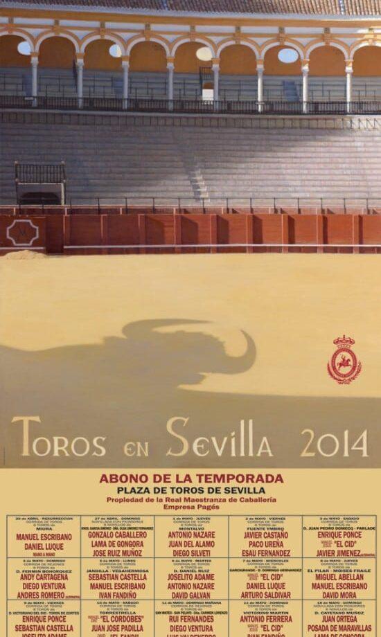 Cartel de la Feria de Sevilla 2014