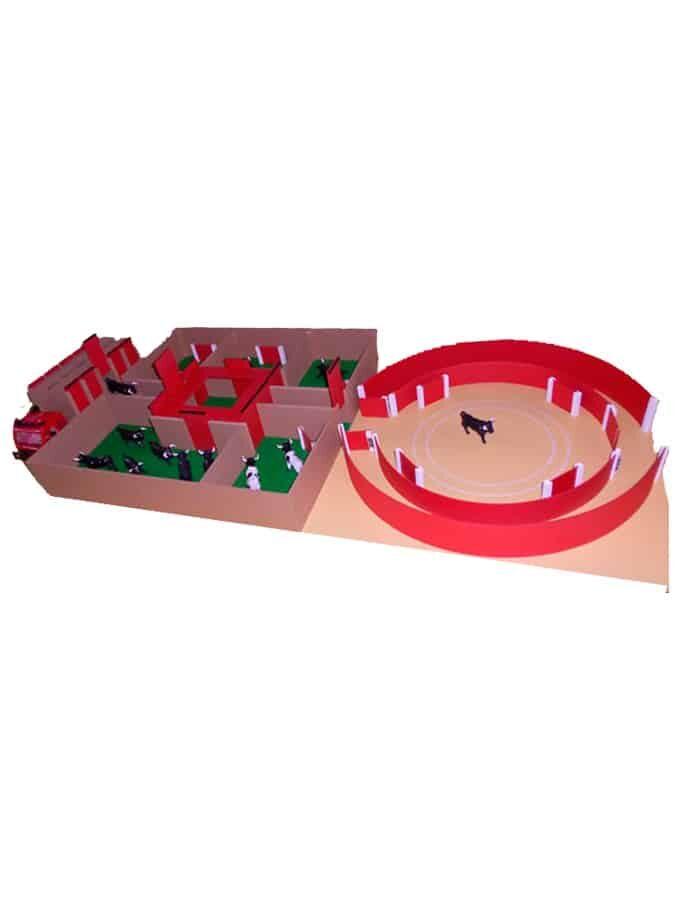 Pack Plaza de toros, camión y toriles de juguete