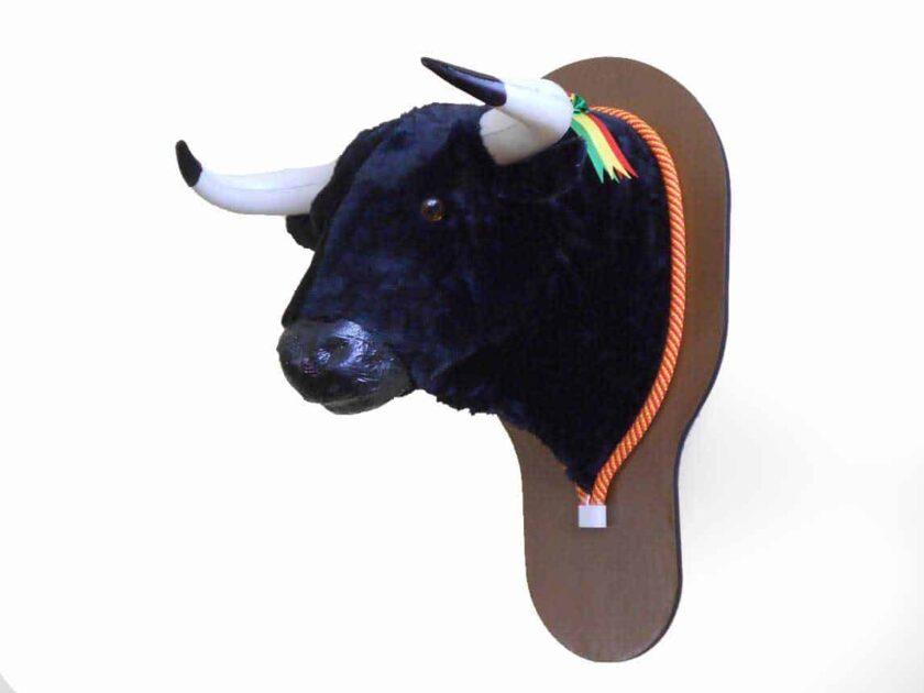 Cabeza de toro para decoración