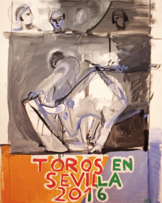 Cartel de la Feria de Sevilla 2016