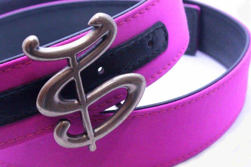 Cinturón de tela de capote hebilla TS