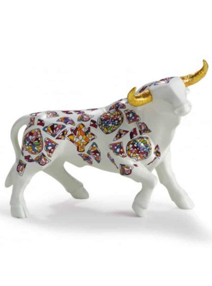 Toro Gaudi de ceramica Nadal