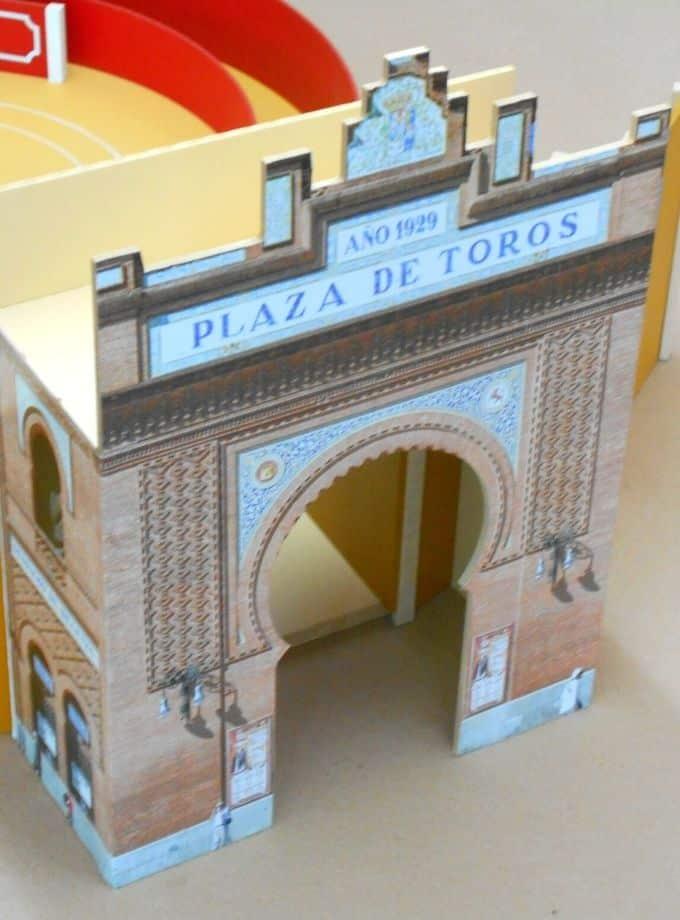 Gradins Grande Porte pour arènes de jouet