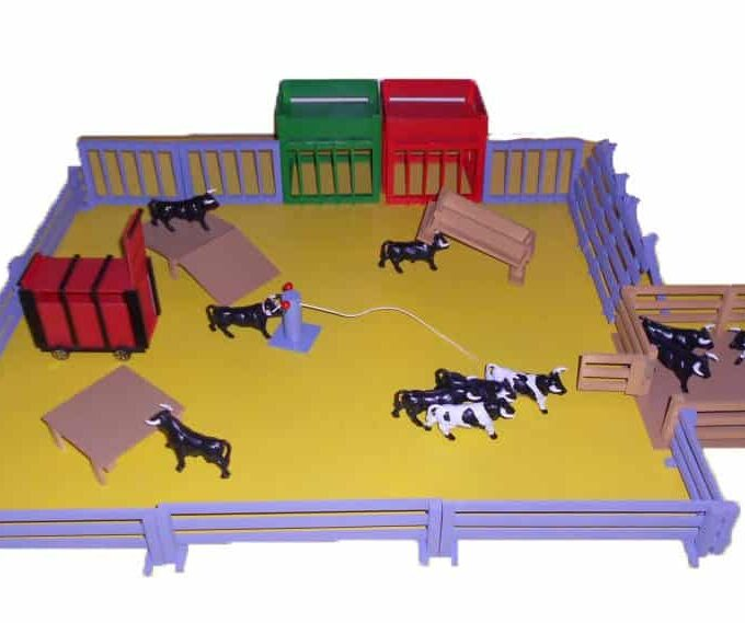 Pack corrales para toros y mansos