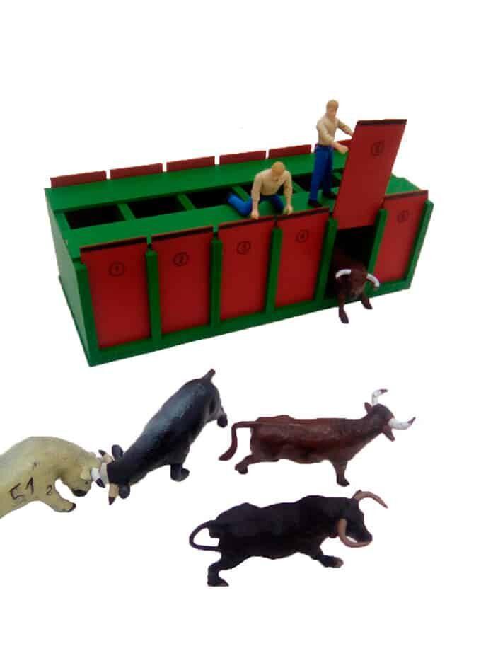 Cajón 6 Toros XL