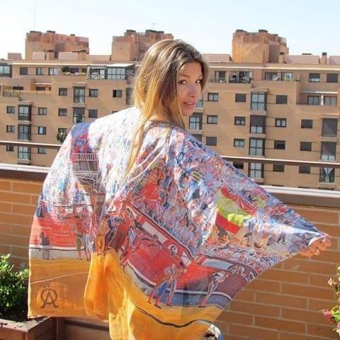 Pañuelo de seda Taurino