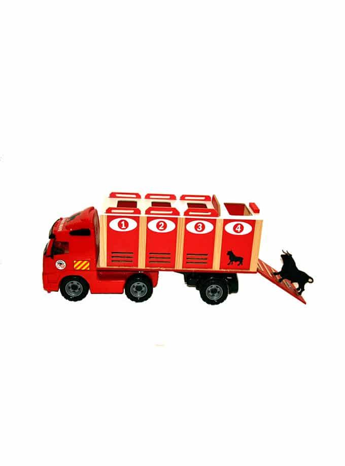 Camión de Transporte de juguete para Toros