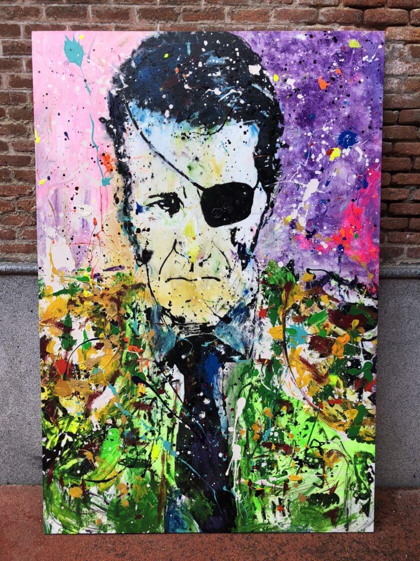 Cuadro Pop Art Juan Jose Padrilla