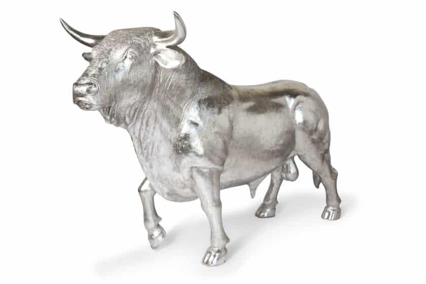 Escultura de Toro Tamaño Real