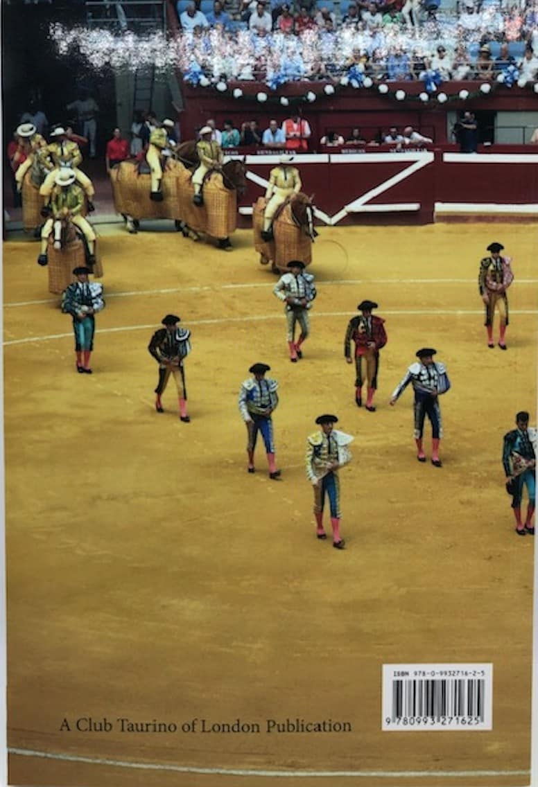 """Libro """"The Bulls, The Bullfighters and Their World"""""""