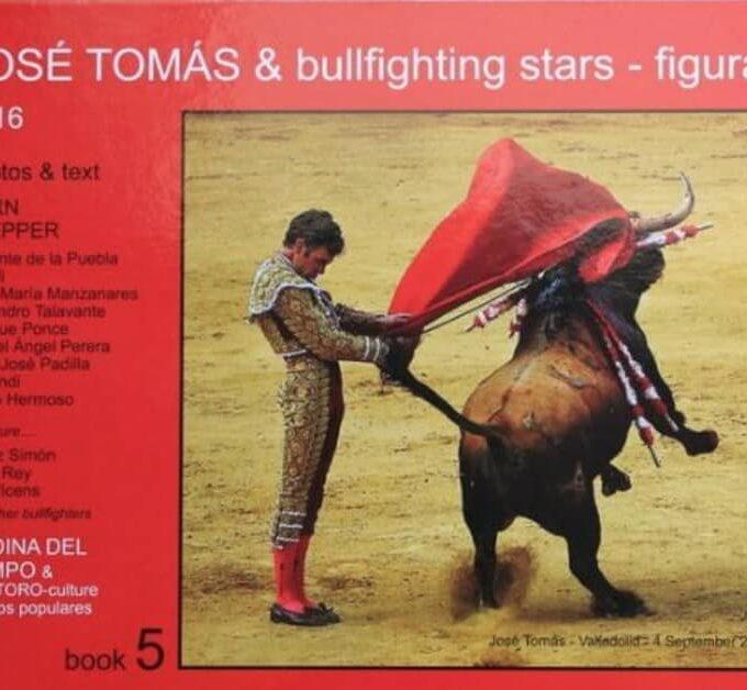 Libro José Tomás & bullfighting stars - figuras
