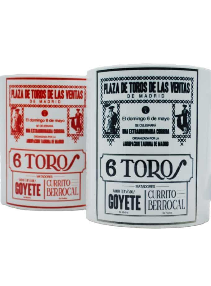 Taza Cartel de Toros