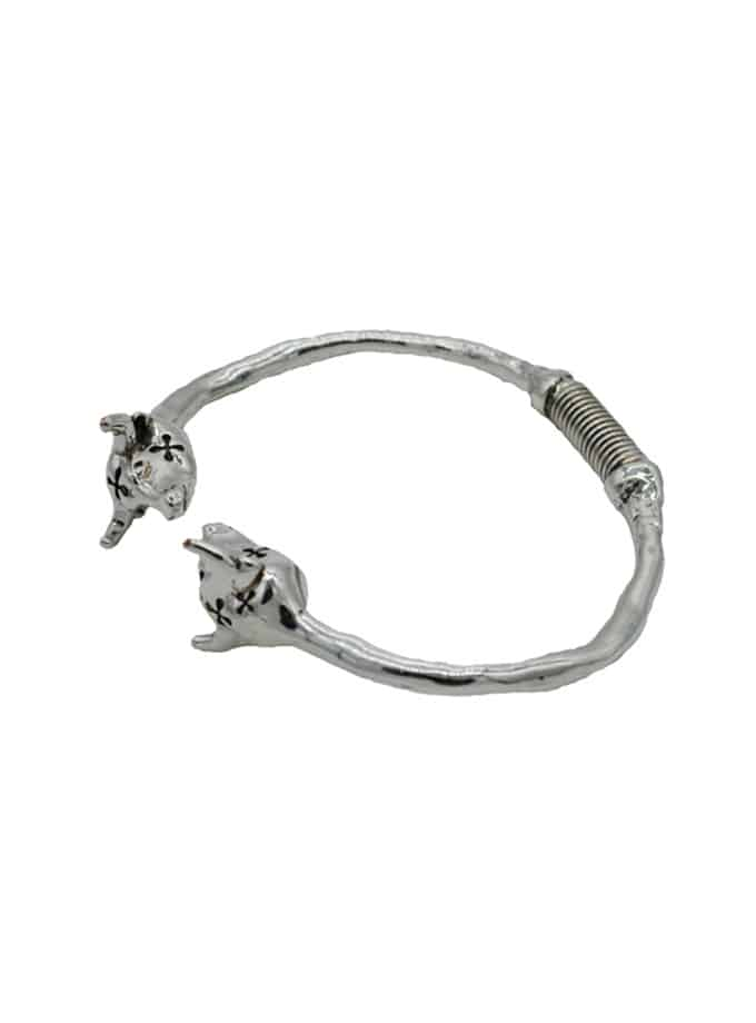 bull heads bracelet