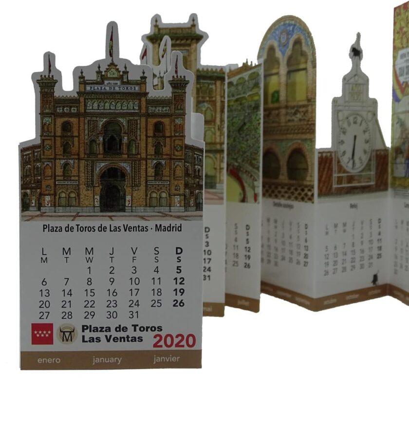 Calendario Pocket Las Ventas 2020