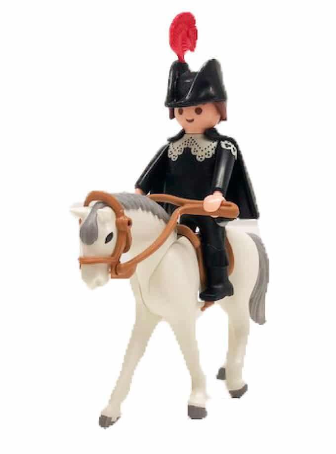 Click de Alguacil con caballo para Playmobil