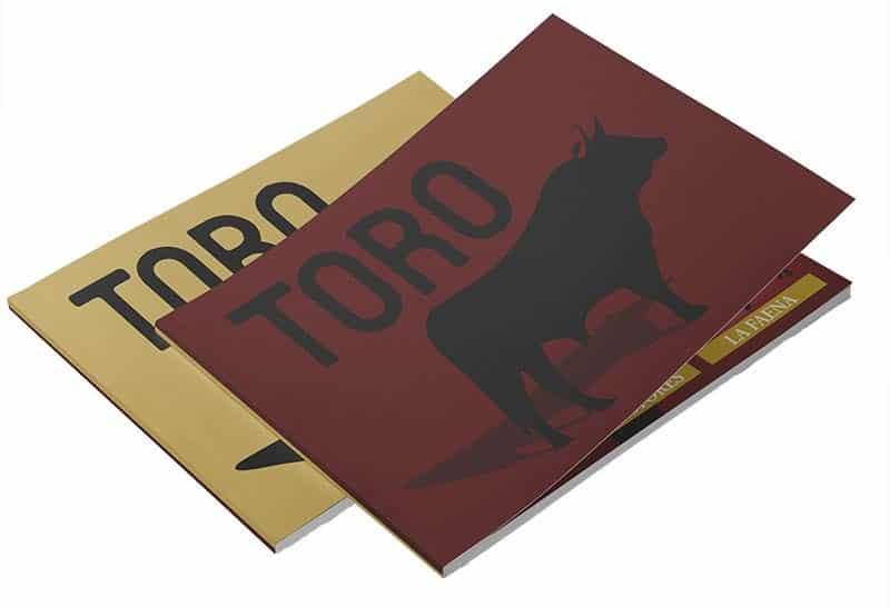 "Lbro bilingüe ""Toro"""