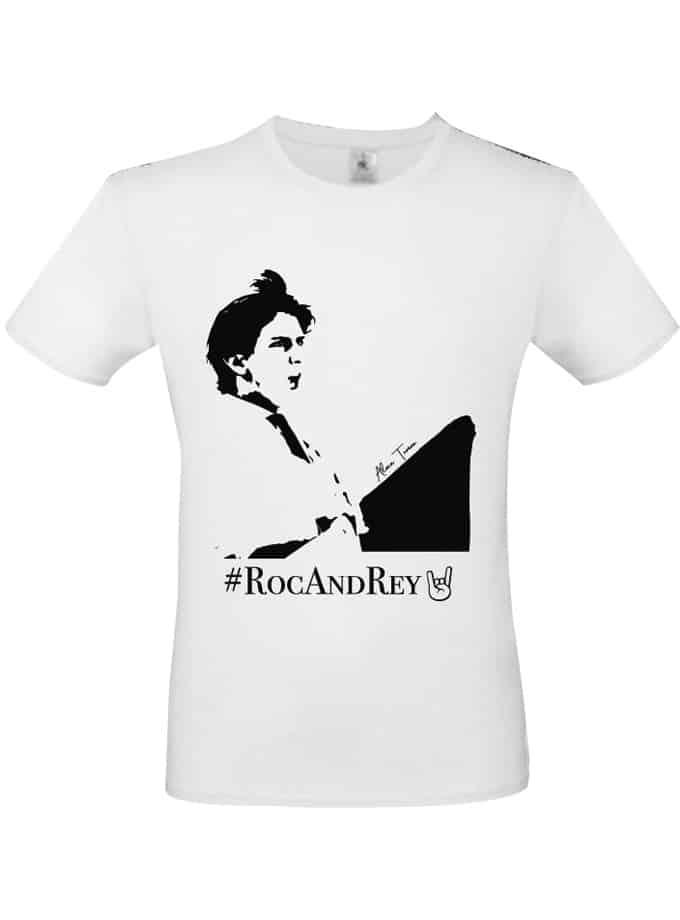 Camiseta blanca de Roca Rey