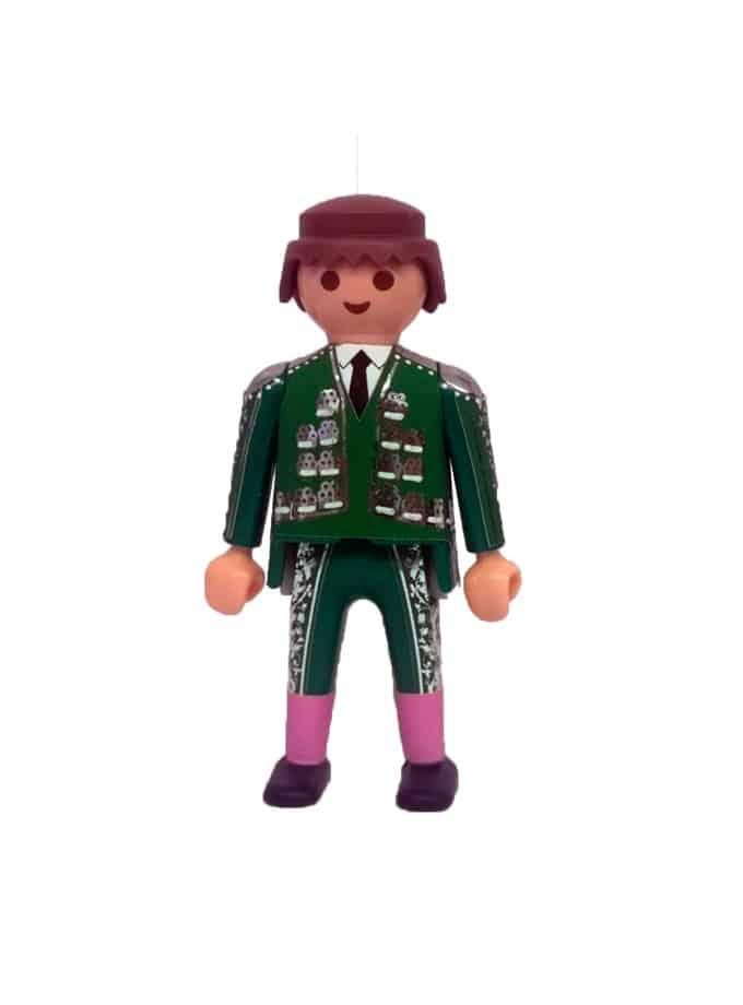 Playmobil torero para plaza de toros de juguete verde
