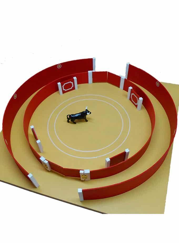Plaza de toros de juguete