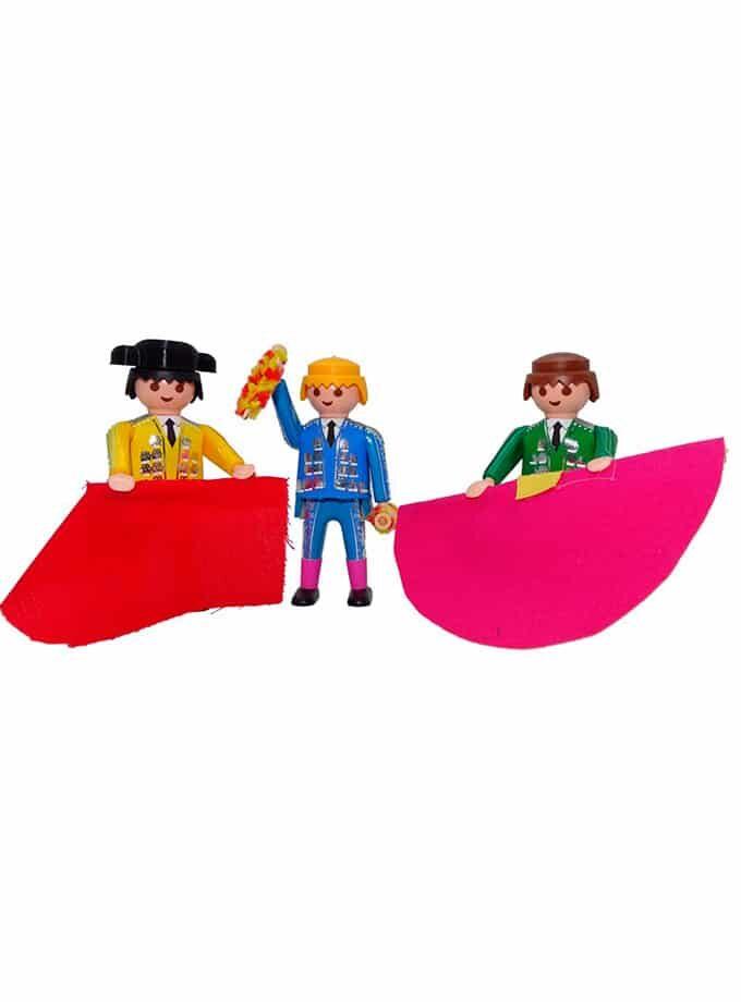 Cuadrilla de Toreros Playmobil Mini