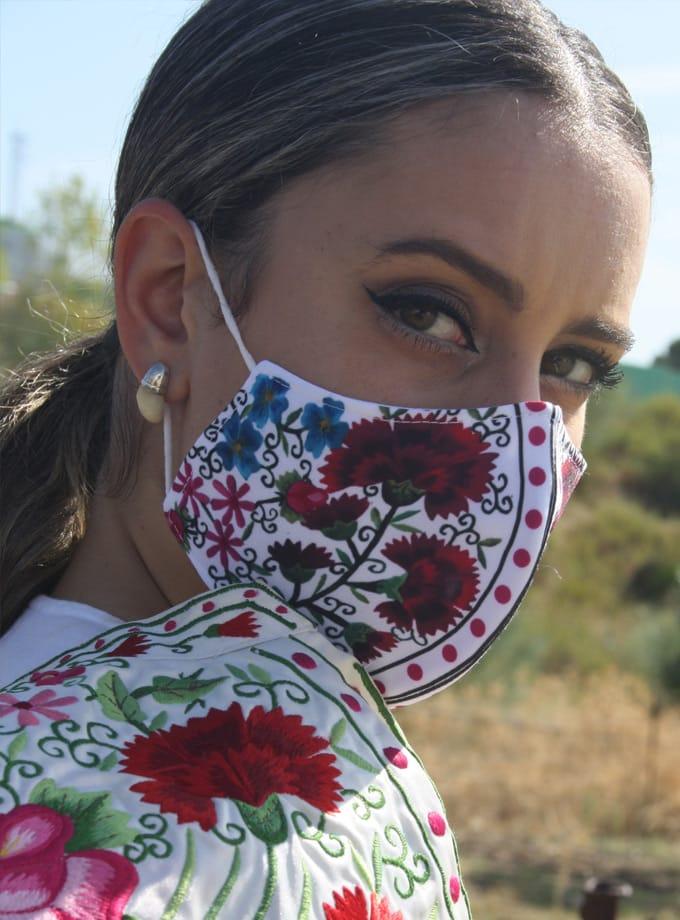 Masque Cape de Parade de torero avec filtre TNT