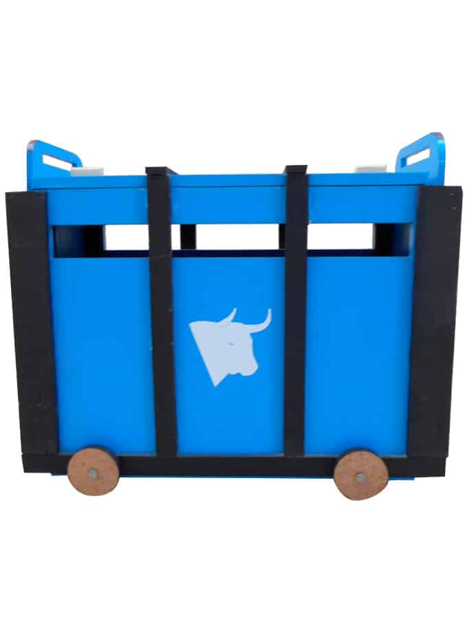 XL crate of toy bulls