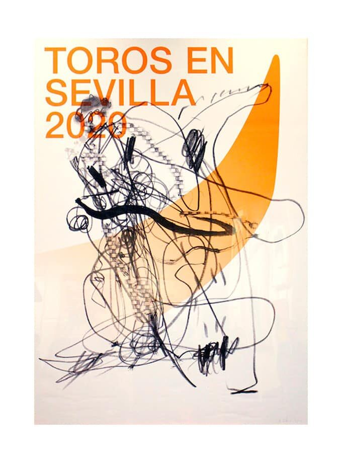 2020 sevilla bullfighting poster